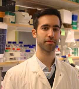Tiago Pinheiro PhD student in neuroscience and regenerative medicine in the lab of Andras Simon in the department of cell and molecular biology Karolinska Institute Stockholm, Sweden