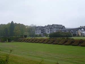 View of Gregynog. Courtesy of Dr. James Redman.